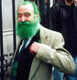 st pat's day old gent