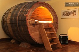 beer barrel bed #1
